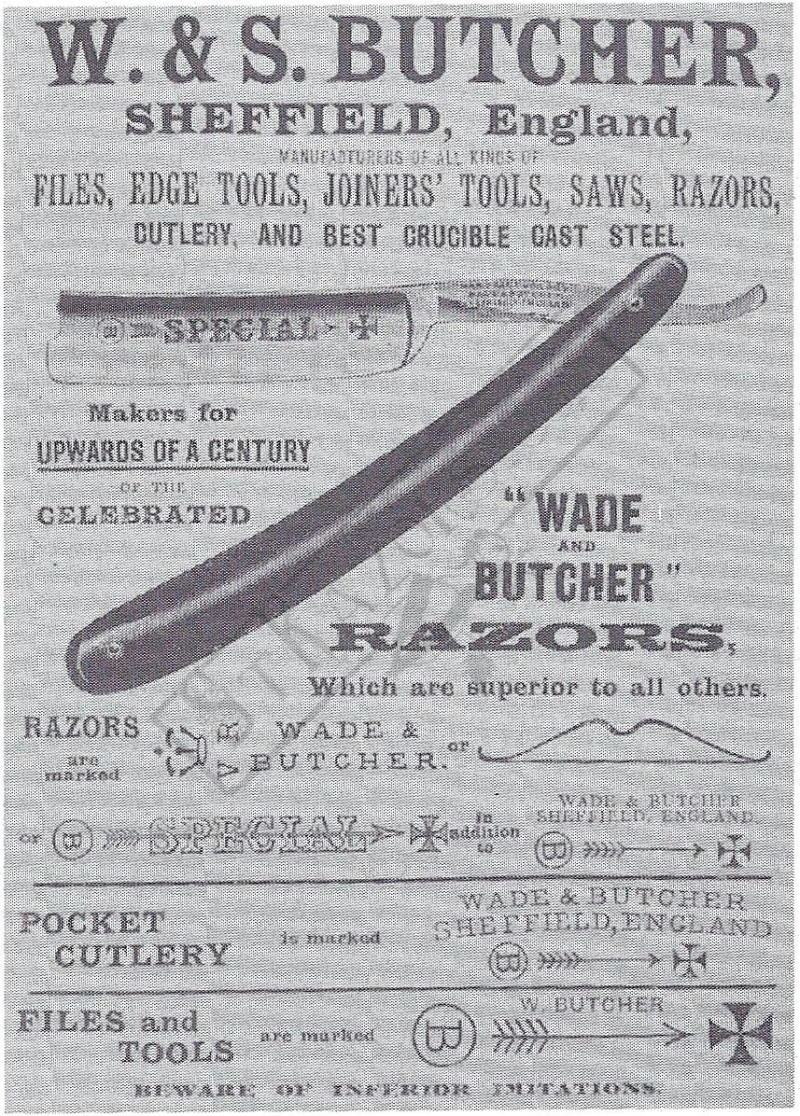 Strazors Com All About Classic Razors Wade Amp Butcher